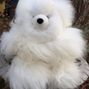 Alpaca Teddy Bears white