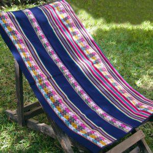 Beautiful wool throw picnic blanket