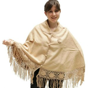 Alpaca Wool Poncho free shipping