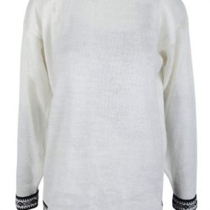 Alpaca wool sweater for men