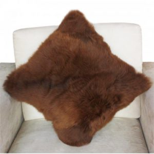 Superfine 100% Baby Alpaca Fur Pillow