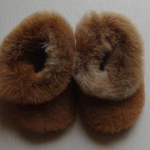 Teddy Childen Alpaca Slippers