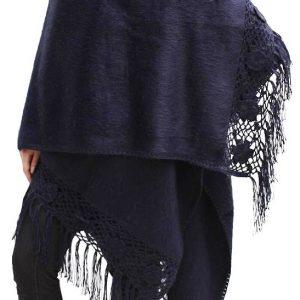 Poncho Cape Shawl Wrap Soft Alpaca Wool