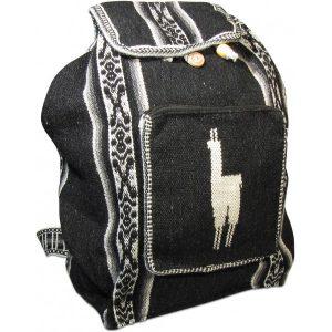 Peruvian Wool Backpack Llama Pocket