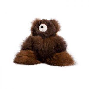 'Big Teddy'  Dark Brown Super Soft Fluffy Toy Handmade