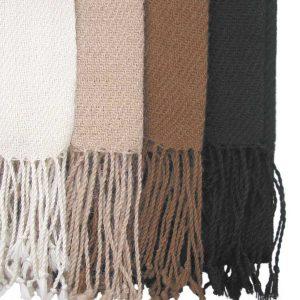 Classic scarf, 100% alpaca wool