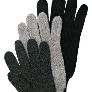 Gloves Unisex - Pure wool alpaca