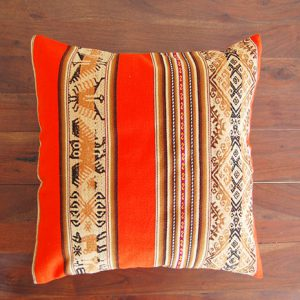 cushion oranje