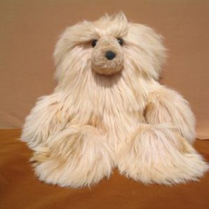 Bear in suri alpaca fur