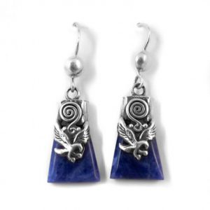 Condor sodalite earrings
