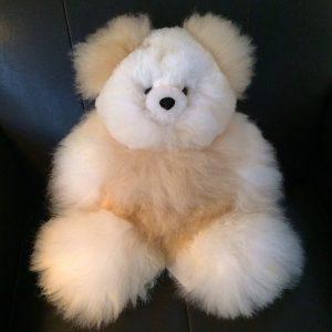 Beautiful Alpaca Fur Bear